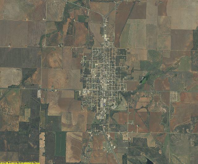 Jones County, Texas aerial photography