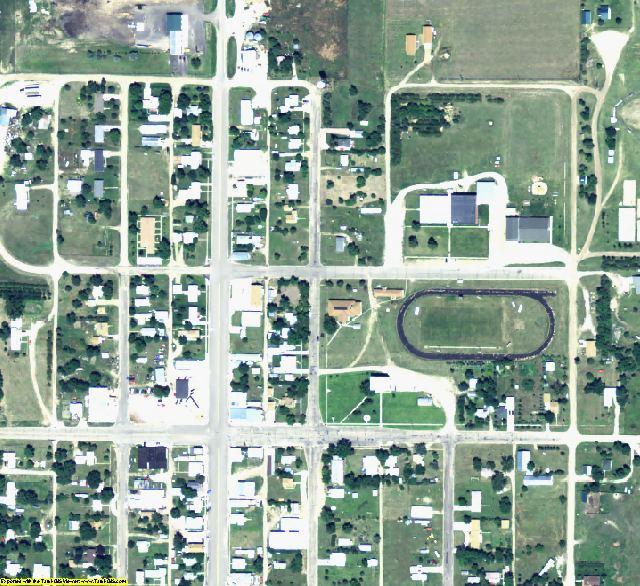 Keya Paha County, NE aerial photography detail