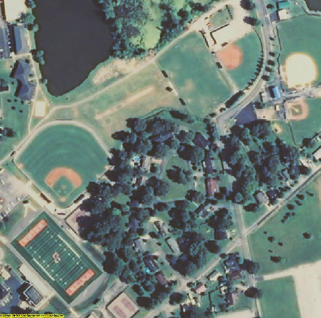 Knox County, KY aerial photography detail