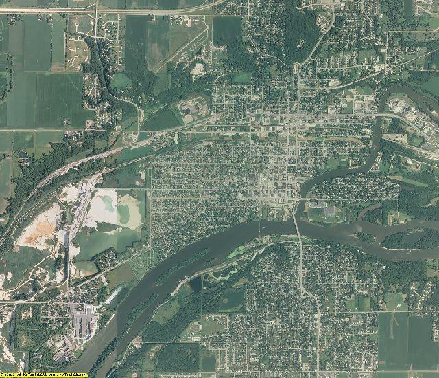 La Salle County, Illinois aerial photography