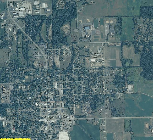 LaGrange County, Indiana aerial photography