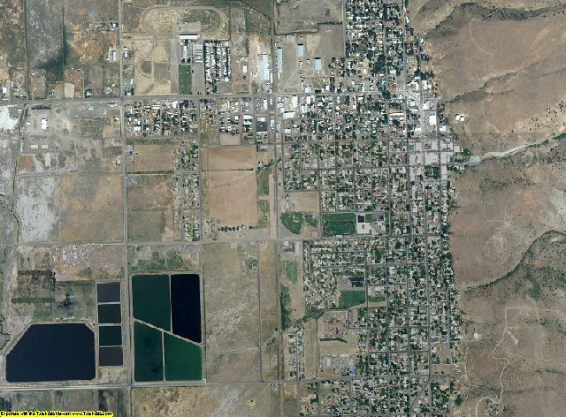 Lake County, Oregon aerial photography