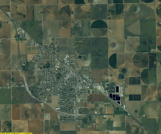Lamb County, Texas aerial photography