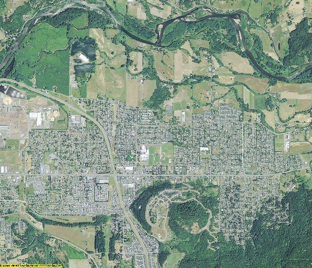 Lane County, Oregon aerial photography