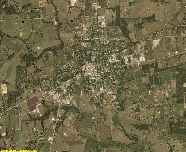 Lavaca County, Texas aerial photography