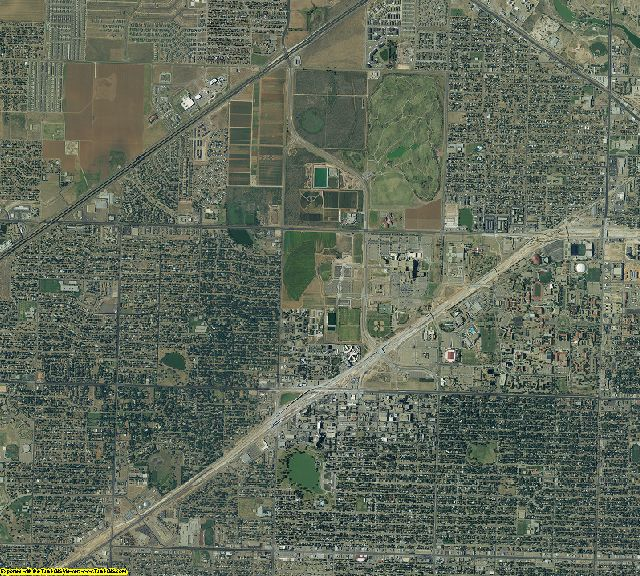 Lubbock County, Texas aerial photography