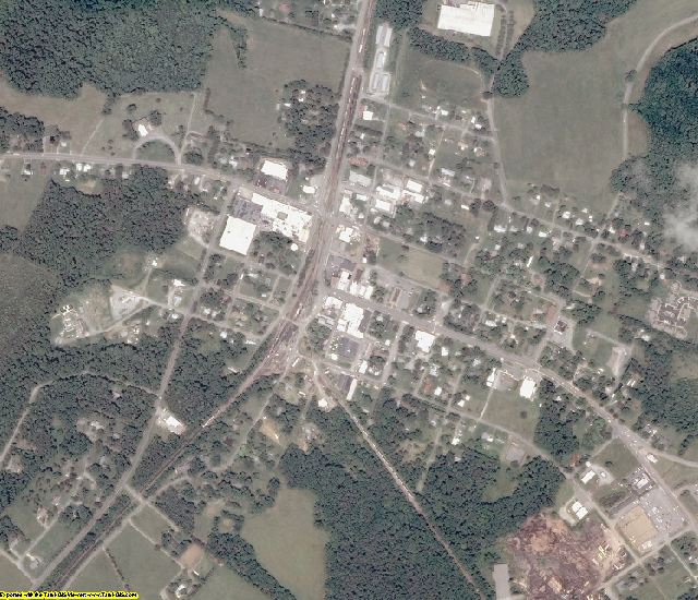 Lunenburg County, VA aerial photography detail
