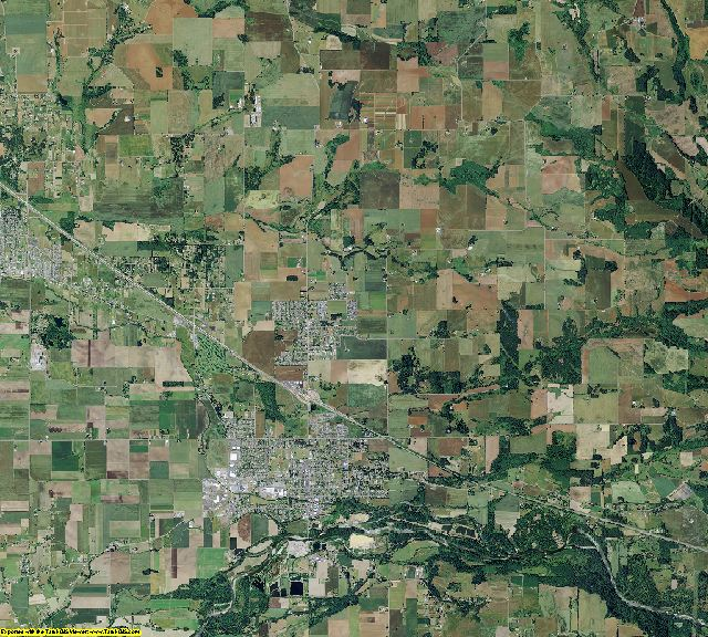 Marion County, Oregon aerial photography
