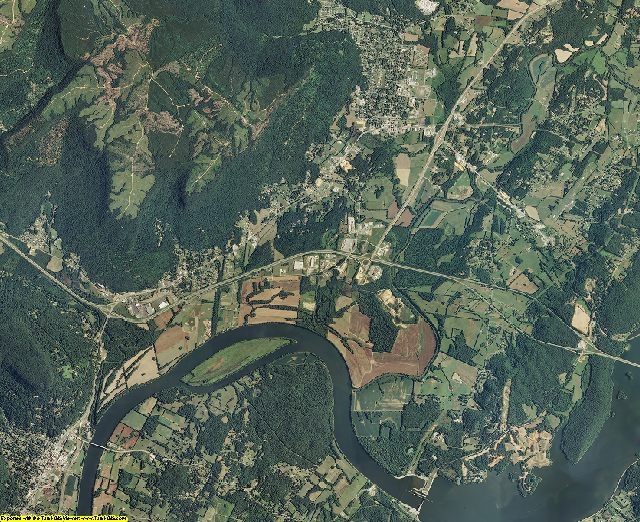 Marion County, Tennessee aerial photography