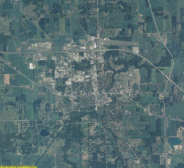 Marshall County, Indiana aerial photography
