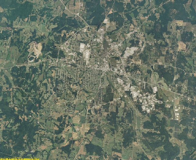 Marshall County, Tennessee aerial photography