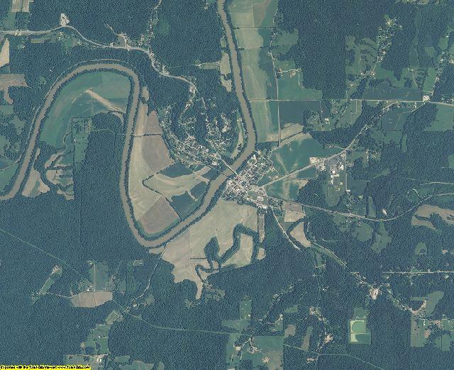 Martin County, Indiana aerial photography