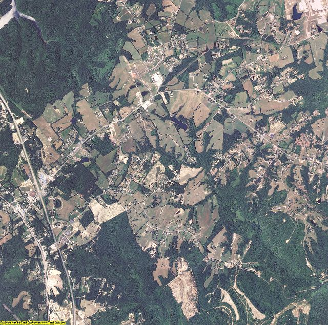 McCreary County, Kentucky aerial photography