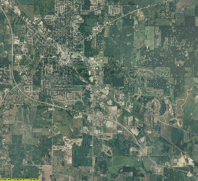 McHenry County, Illinois aerial photography