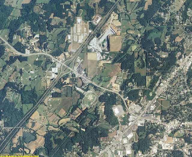 McMinn County, Tennessee aerial photography