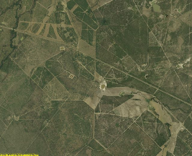 McMullen County, Texas aerial photography