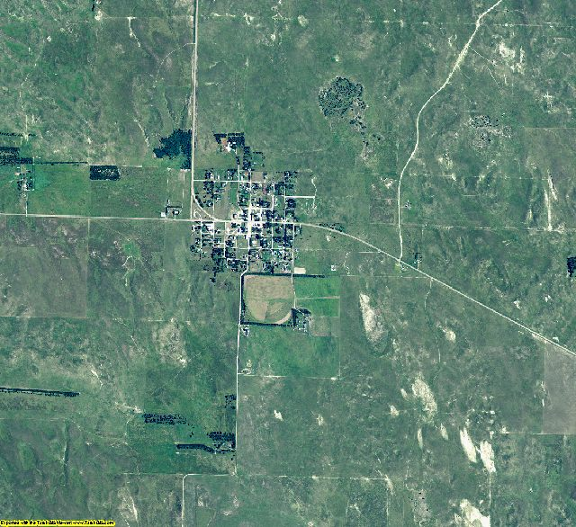 McPherson County, Nebraska aerial photography