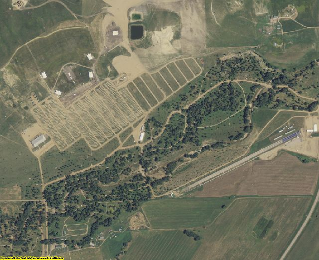 Meade County, SD aerial photography detail