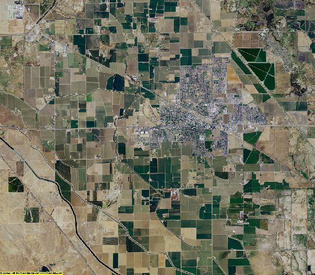 Merced County, California aerial photography