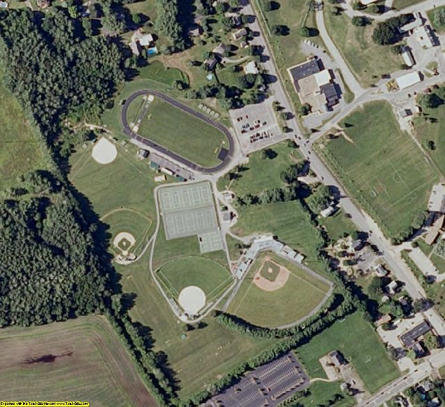 Merrimack County, NH aerial photography detail