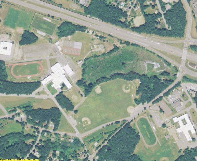 Middlesex County, MA aerial photography detail