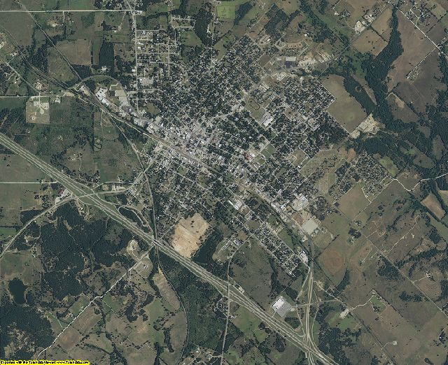 Montague County, Texas aerial photography