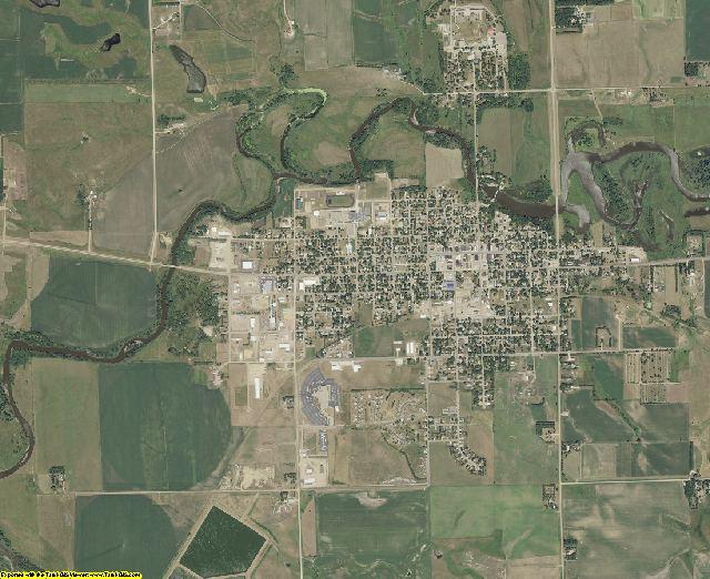 Moody County, South Dakota aerial photography