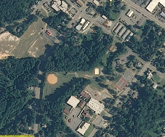 Moore County, NC aerial photography detail