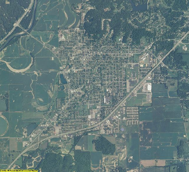 Morgan County, Indiana aerial photography