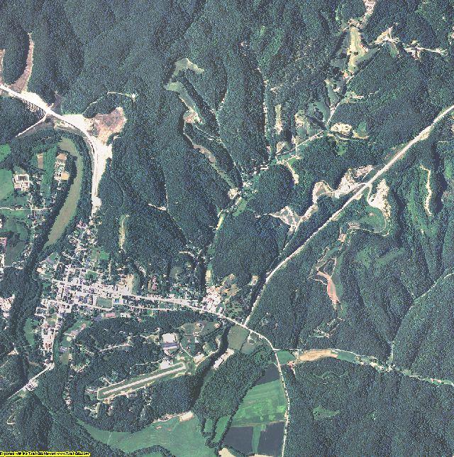 Morgan County, Kentucky aerial photography