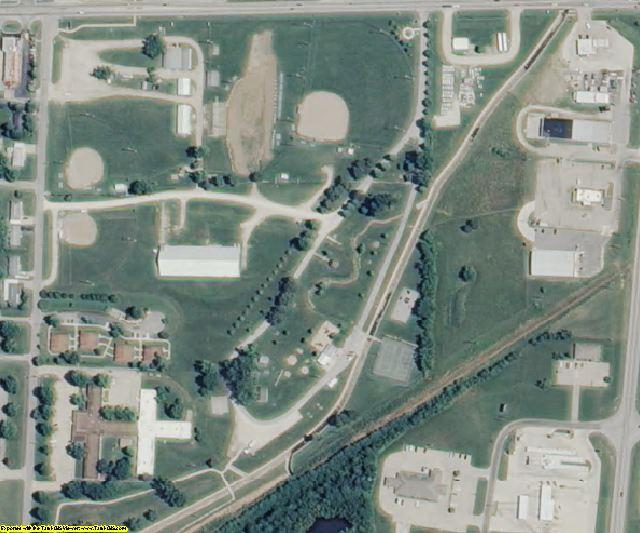 Morgan County, MO aerial photography detail