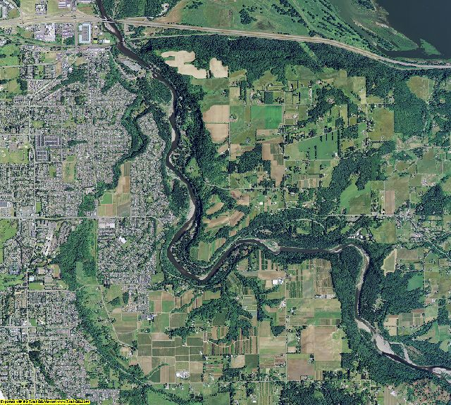 Multnomah County, Oregon aerial photography