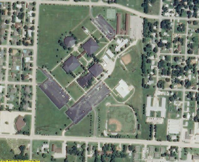 Neosho County, KS aerial photography detail