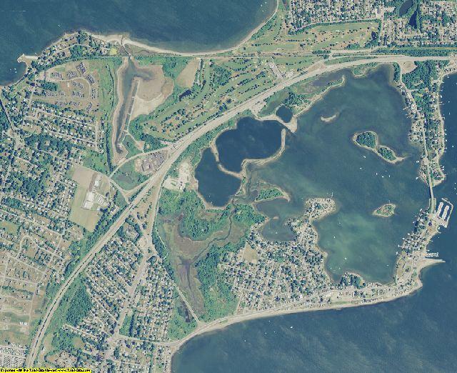 Newport County, Rhode Island aerial photography