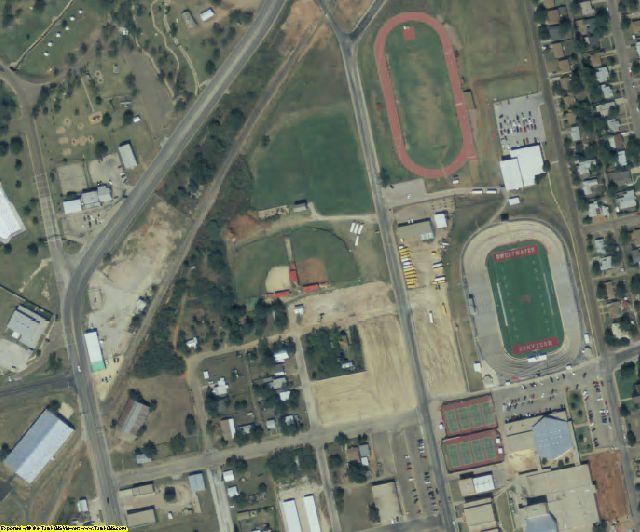Nolan County, TX aerial photography detail