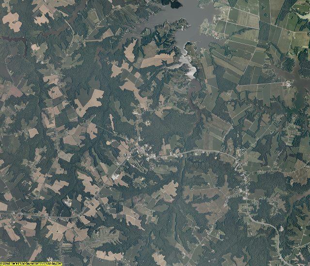 Northumberland County, Virginia aerial photography