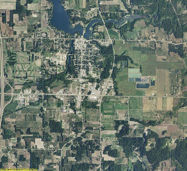 Oceana County, Michigan aerial photography