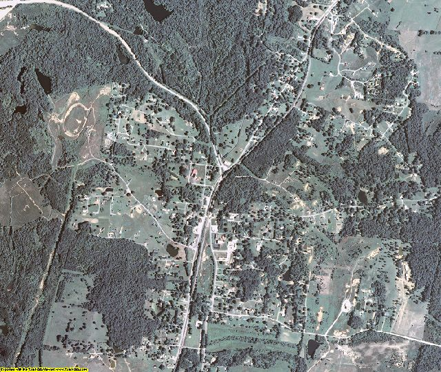 Ohio County, Kentucky aerial photography