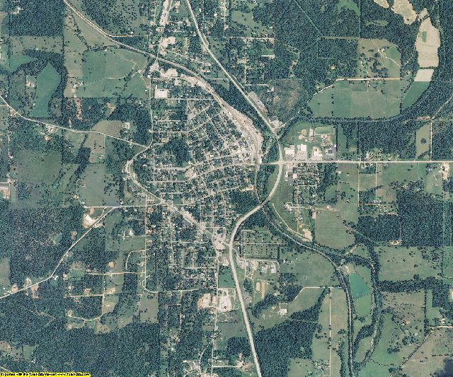 Oregon County, Missouri aerial photography