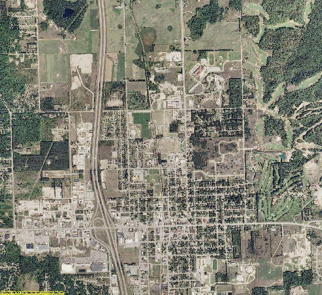 Otsego County, Michigan aerial photography