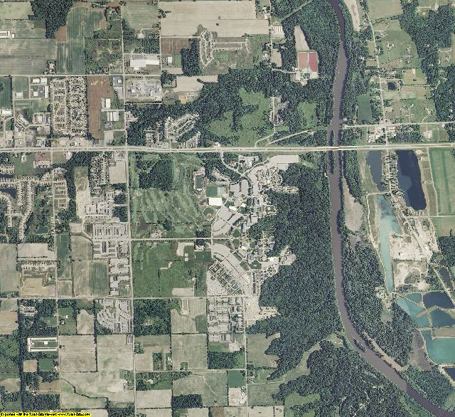 Ottawa County, Michigan aerial photography
