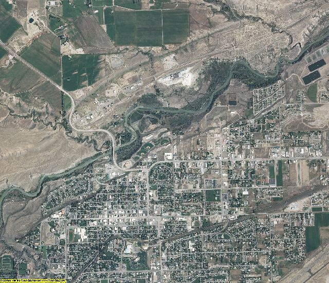 Park County, Wyoming aerial photography