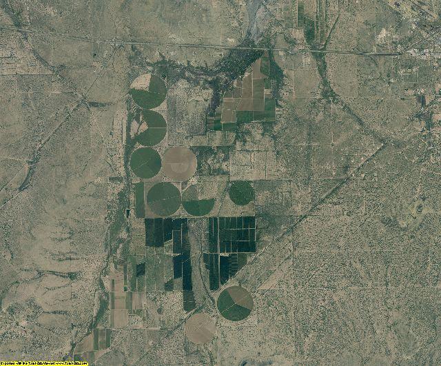 Pecos County, Texas aerial photography