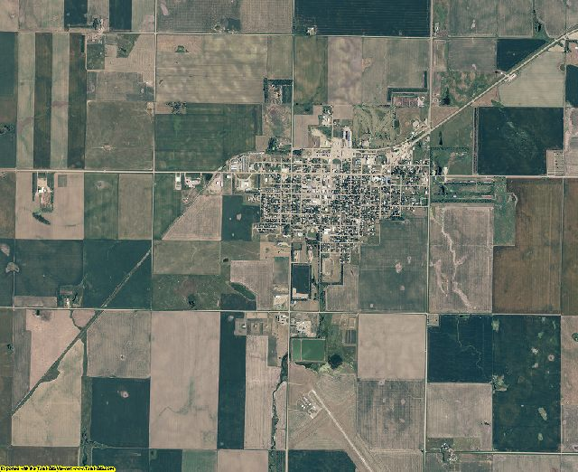 Potter County, South Dakota aerial photography