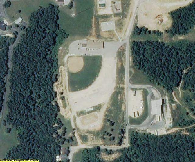 Pulaski County, MO aerial photography detail
