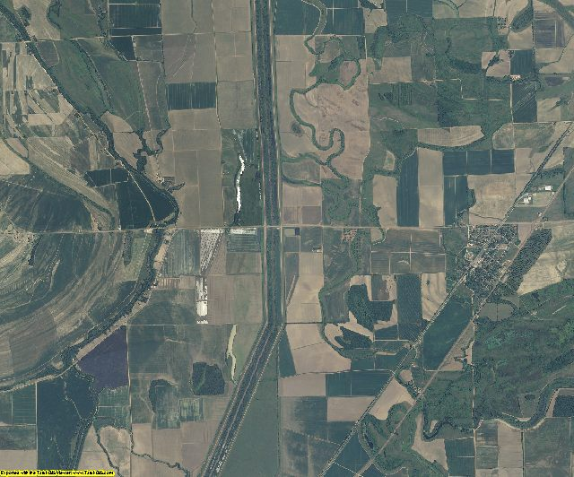 Quitman County, Mississippi aerial photography