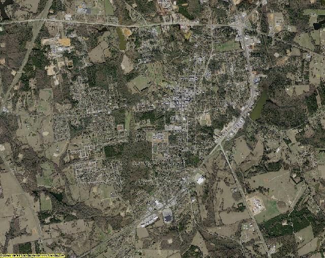 Rusk County, Texas aerial photography
