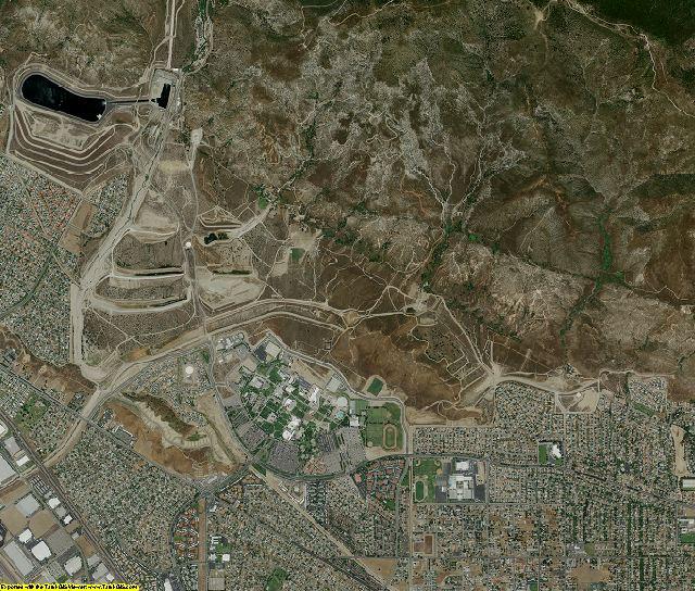 San Bernardino County, California aerial photography