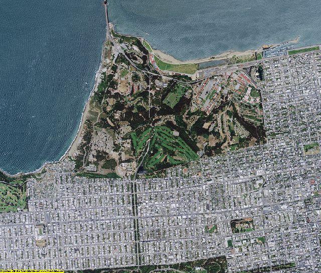 San Francisco County, California aerial photography