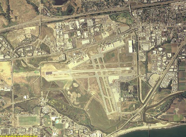 Santa Barbara County, California aerial photography